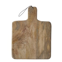 Duko Large Chopping Board Square Brown - Brown