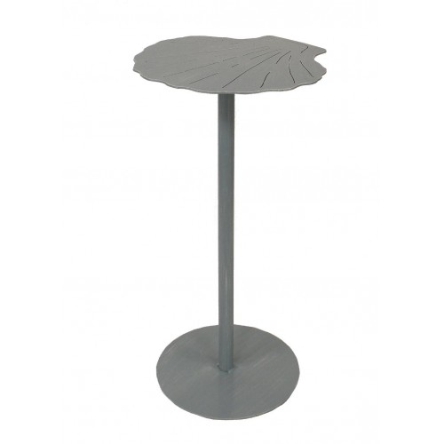 Weathered Atlantic Grey Shell Drink Table