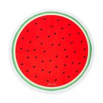 Personalized Round Beach Towel - Watermelon PatternI